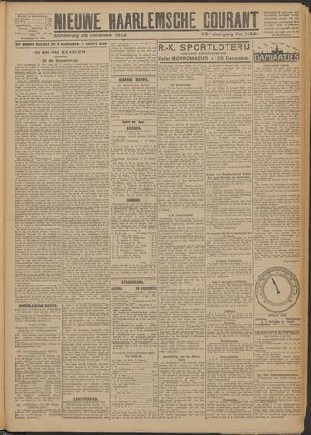 Nieuwe Haarlemsche Courant 1922-12-28