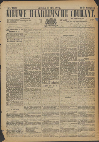 Nieuwe Haarlemsche Courant 1894-05-13