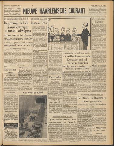 Nieuwe Haarlemsche Courant 1957-02-27