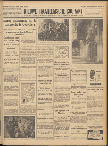 Nieuwe Haarlemsche Courant 1938-09-24