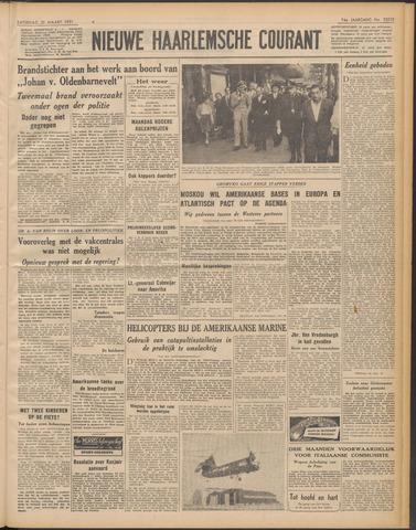 Nieuwe Haarlemsche Courant 1951-03-31