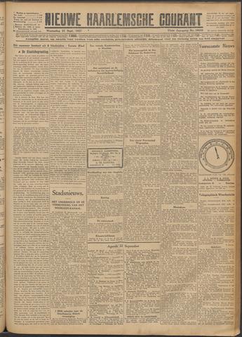 Nieuwe Haarlemsche Courant 1927-09-21