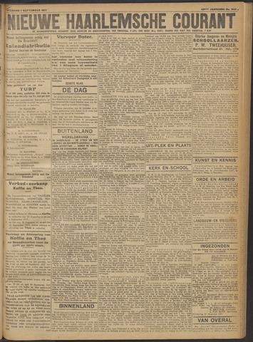 Nieuwe Haarlemsche Courant 1917-09-01