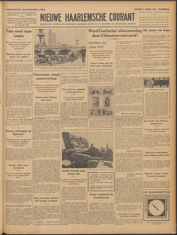 Nieuwe Haarlemsche Courant 1938-01-08