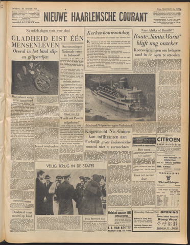 Nieuwe Haarlemsche Courant 1961-01-28