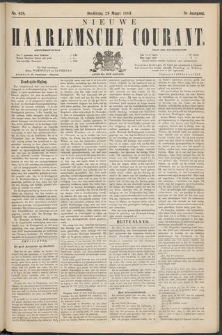 Nieuwe Haarlemsche Courant 1883-03-29