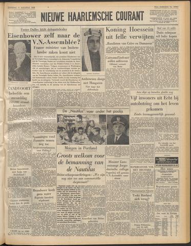 Nieuwe Haarlemsche Courant 1958-08-11
