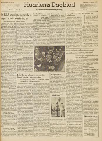 Haarlem's Dagblad 1950-01-25