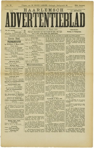 Haarlemsch Advertentieblad 1889-03-16