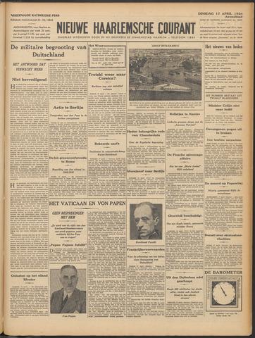 Nieuwe Haarlemsche Courant 1934-04-17