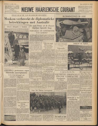 Nieuwe Haarlemsche Courant 1954-04-24