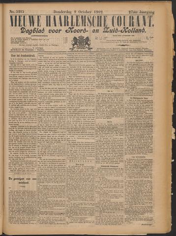 Nieuwe Haarlemsche Courant 1902-10-09