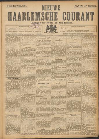 Nieuwe Haarlemsche Courant 1907-01-09