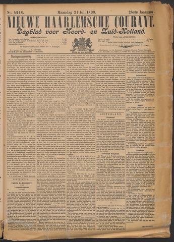 Nieuwe Haarlemsche Courant 1899-07-31
