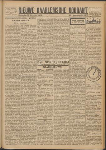 Nieuwe Haarlemsche Courant 1922-12-14