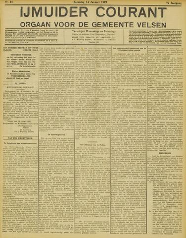 IJmuider Courant 1922-01-14