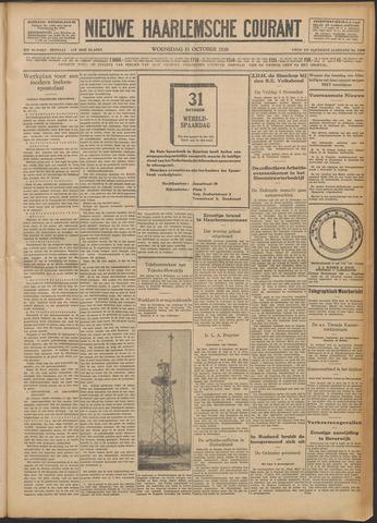 Nieuwe Haarlemsche Courant 1928-10-31