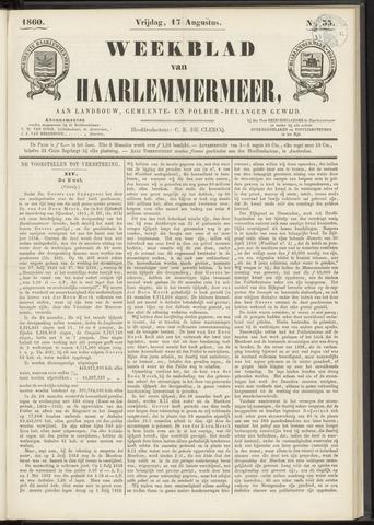Weekblad van Haarlemmermeer 1860-08-17