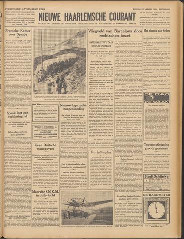 Nieuwe Haarlemsche Courant 1939-01-25
