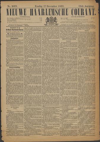Nieuwe Haarlemsche Courant 1893-12-17
