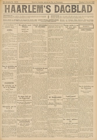 Haarlem's Dagblad 1926-02-02