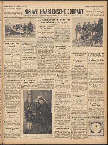 Nieuwe Haarlemsche Courant 1938-04-08