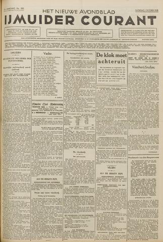 IJmuider Courant 1938-10-01
