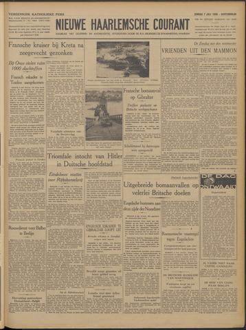 Nieuwe Haarlemsche Courant 1940-07-07