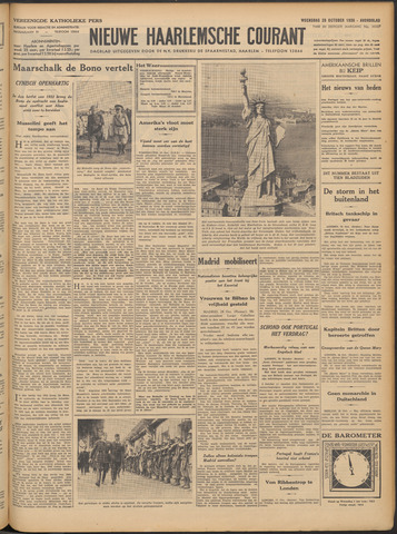 Nieuwe Haarlemsche Courant 1936-10-28