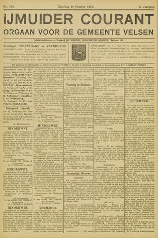 IJmuider Courant 1916-10-28
