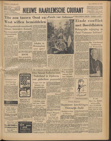 Nieuwe Haarlemsche Courant 1963-09-09