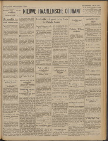 Nieuwe Haarlemsche Courant 1941-06-05