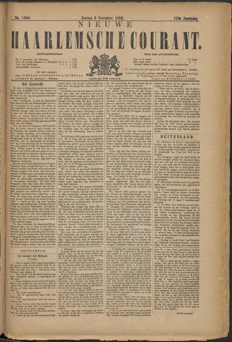 Nieuwe Haarlemsche Courant 1892-11-06