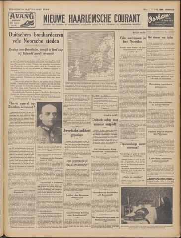 Nieuwe Haarlemsche Courant 1940-04-12