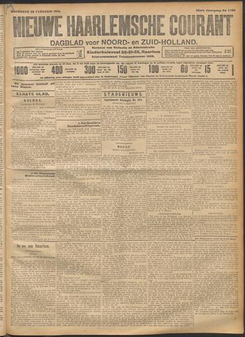 Nieuwe Haarlemsche Courant 1912-02-28
