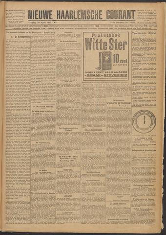 Nieuwe Haarlemsche Courant 1927-04-29