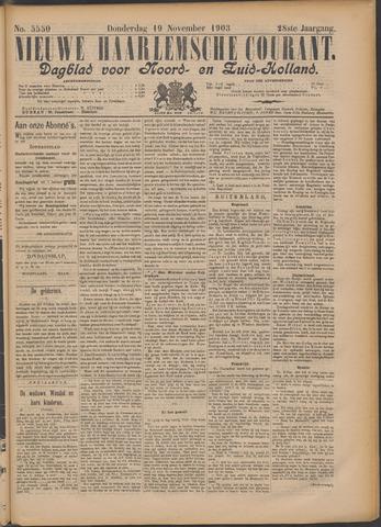 Nieuwe Haarlemsche Courant 1903-11-19