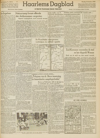 Haarlem's Dagblad 1950-10-10