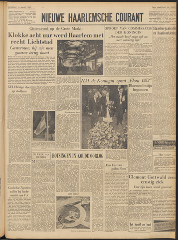 Nieuwe Haarlemsche Courant 1953-03-14