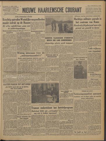 Nieuwe Haarlemsche Courant 1948-04-05