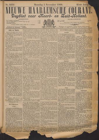 Nieuwe Haarlemsche Courant 1900-11-05