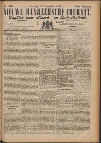 Nieuwe Haarlemsche Courant 1905-11-27