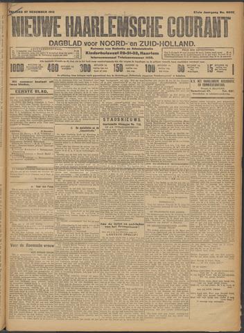 Nieuwe Haarlemsche Courant 1912-12-27