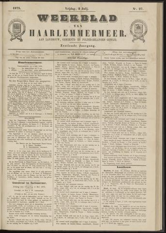 Weekblad van Haarlemmermeer 1875-07-02
