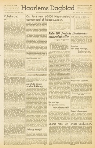 Haarlem's Dagblad 1945-09-05