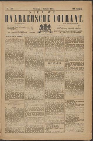 Nieuwe Haarlemsche Courant 1889-09-11