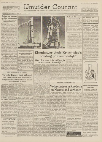 IJmuider Courant 1959-02-26