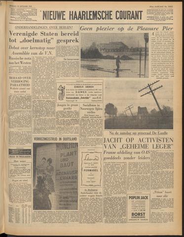 Nieuwe Haarlemsche Courant 1961-09-12