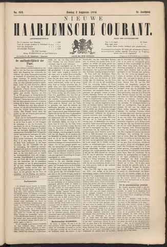 Nieuwe Haarlemsche Courant 1884-08-03