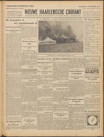 Nieuwe Haarlemsche Courant 1932-11-14